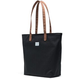 Herschel Mica Tote Bag, black/saddle brown